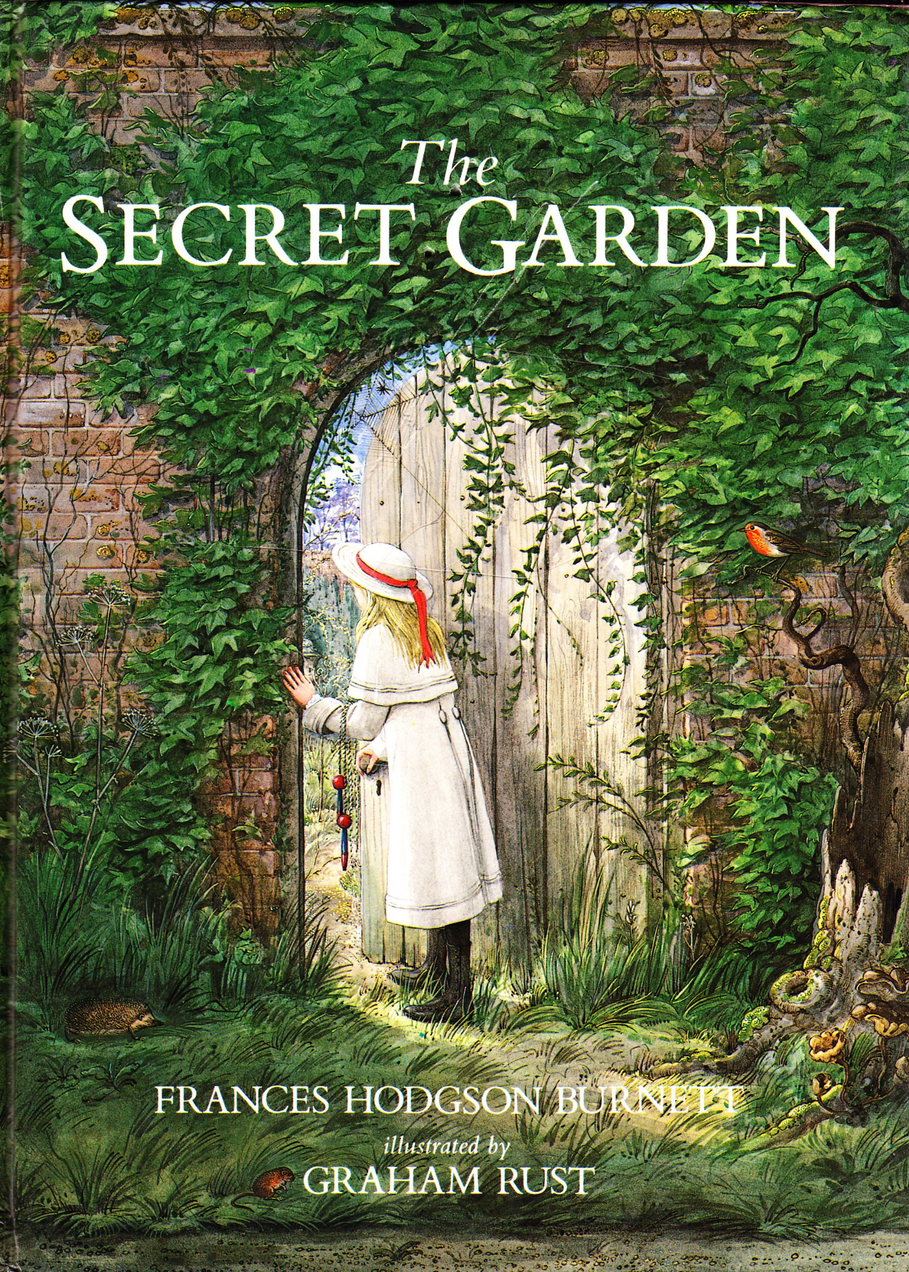 Secret Garden: The Secret Garden + Baked Oatmeal