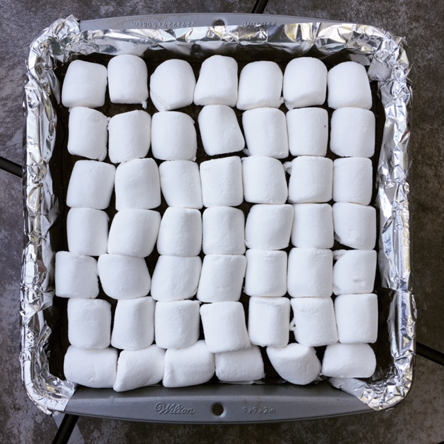 Marshmallow-Covered Brownies