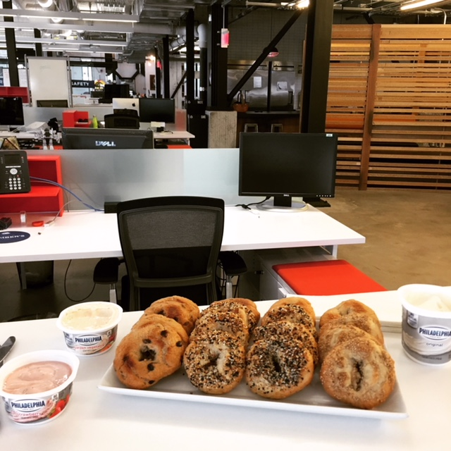 Bagels in Ad Agency
