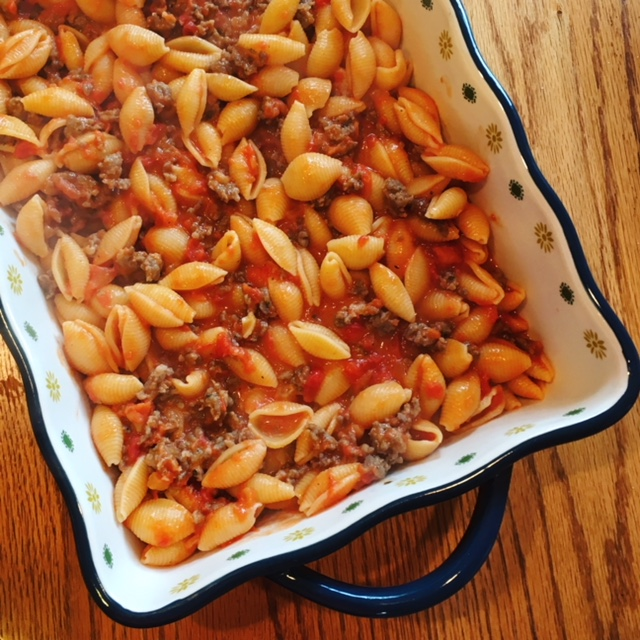 Sausage Vodka Pasta