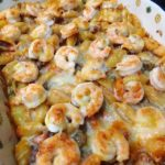 Shrimp and Sausage Pasta Bake