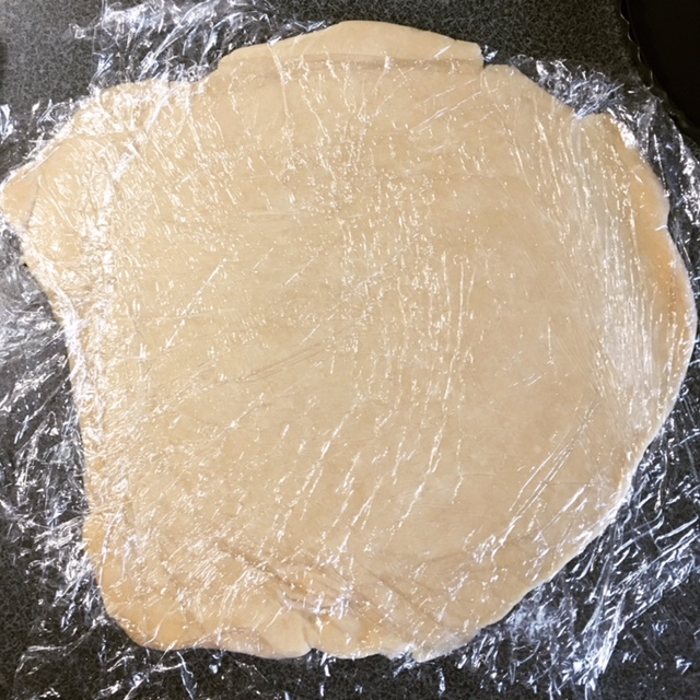 Rolled Out Pastry Dough