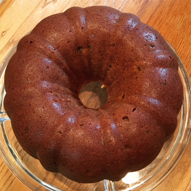 Blackberry Jam Bundt Cake