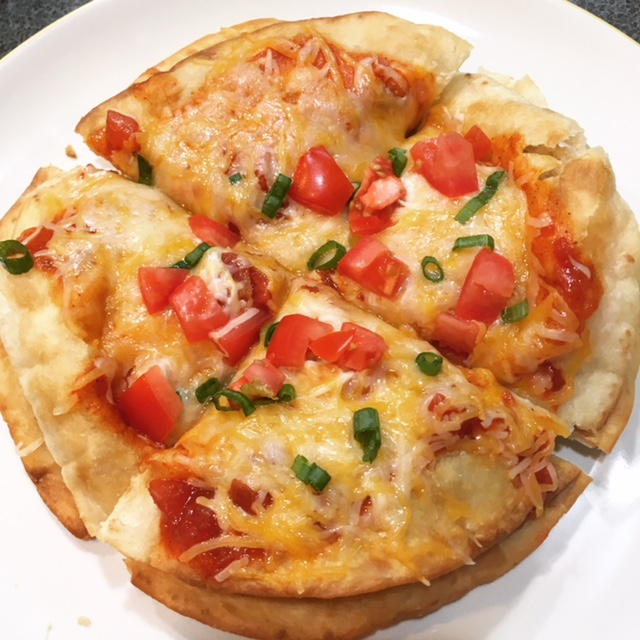 Mexican Pizza Cut