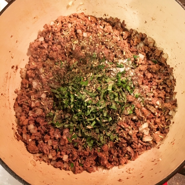Meat for Bolognese Sauce