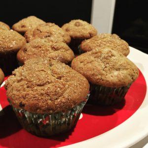 Christmas Morning Muffins - Closeup