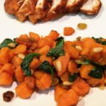 Sweet Potatoes in a Hurry with Chicken