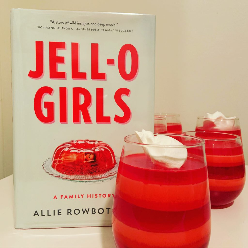 Layered Jello Cups from Jello Girls