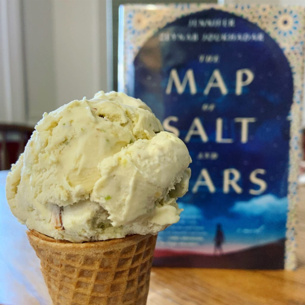 Ice Cream inspired by The Map of Salt and Stars