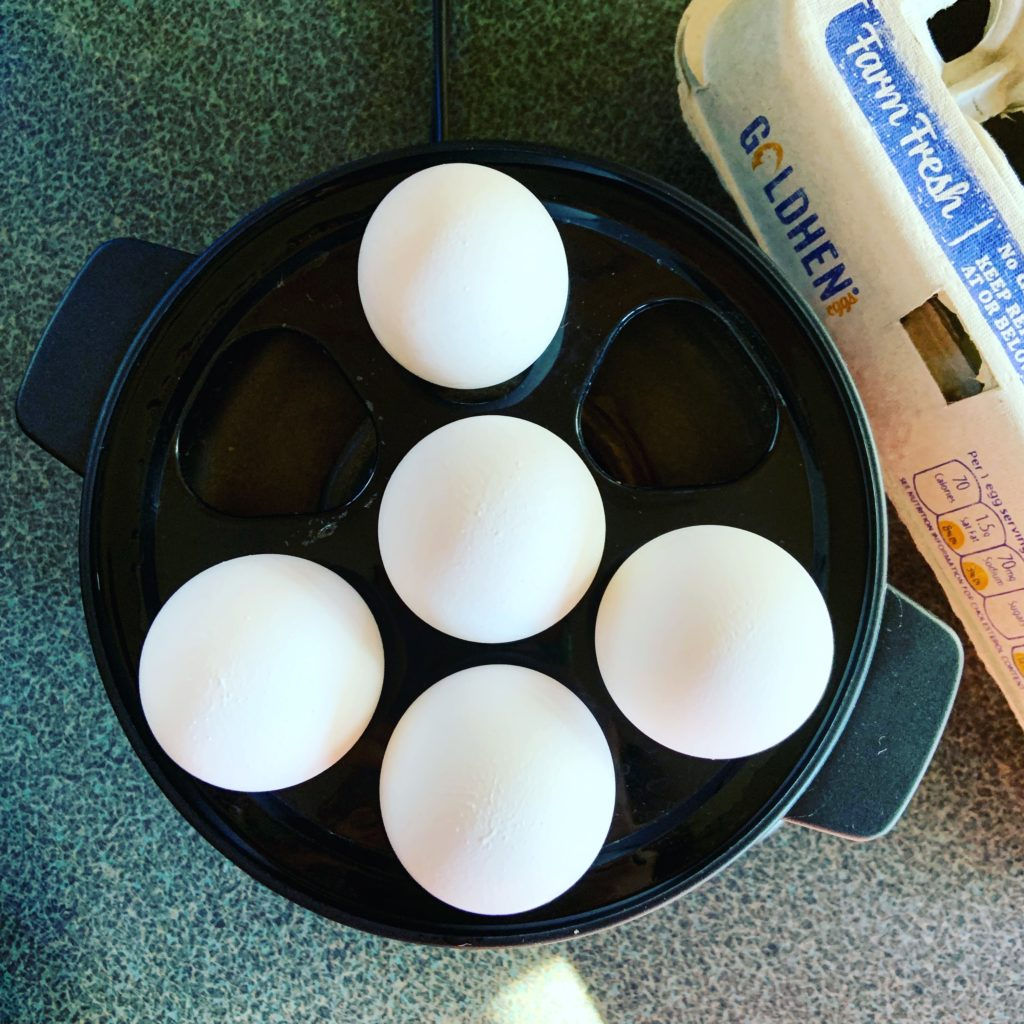 Hardboiling Eggs with Hamilton Egg Cooker