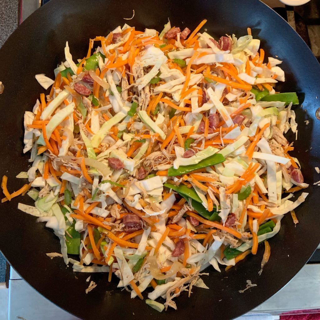 Pancit Vegetables