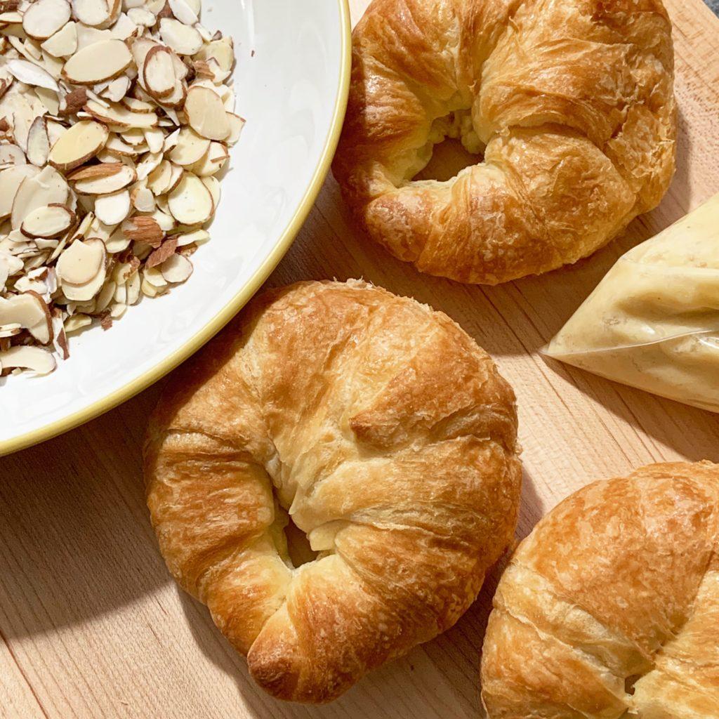 Almond Croissant Ingredients