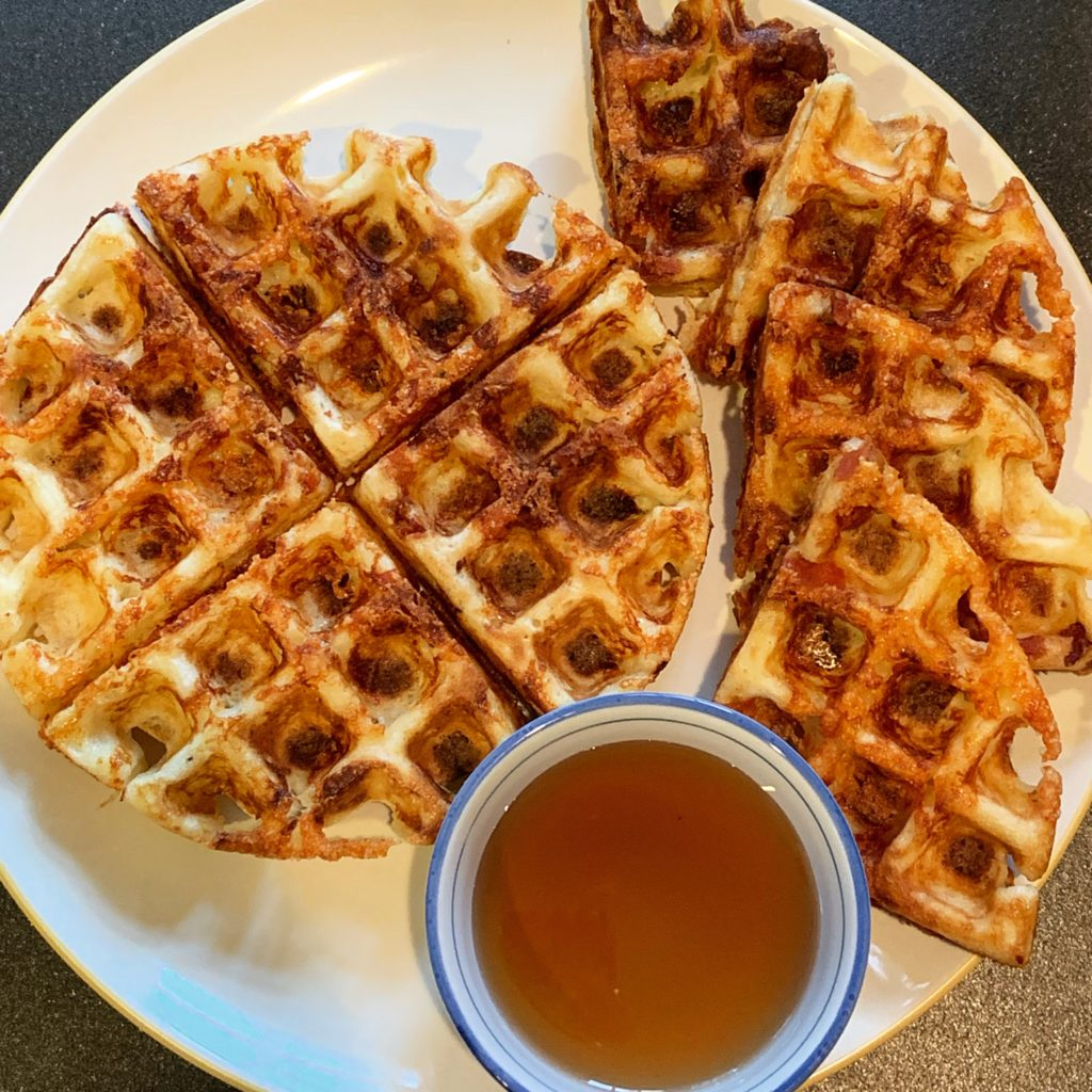 Southern-Style Grits Waffles