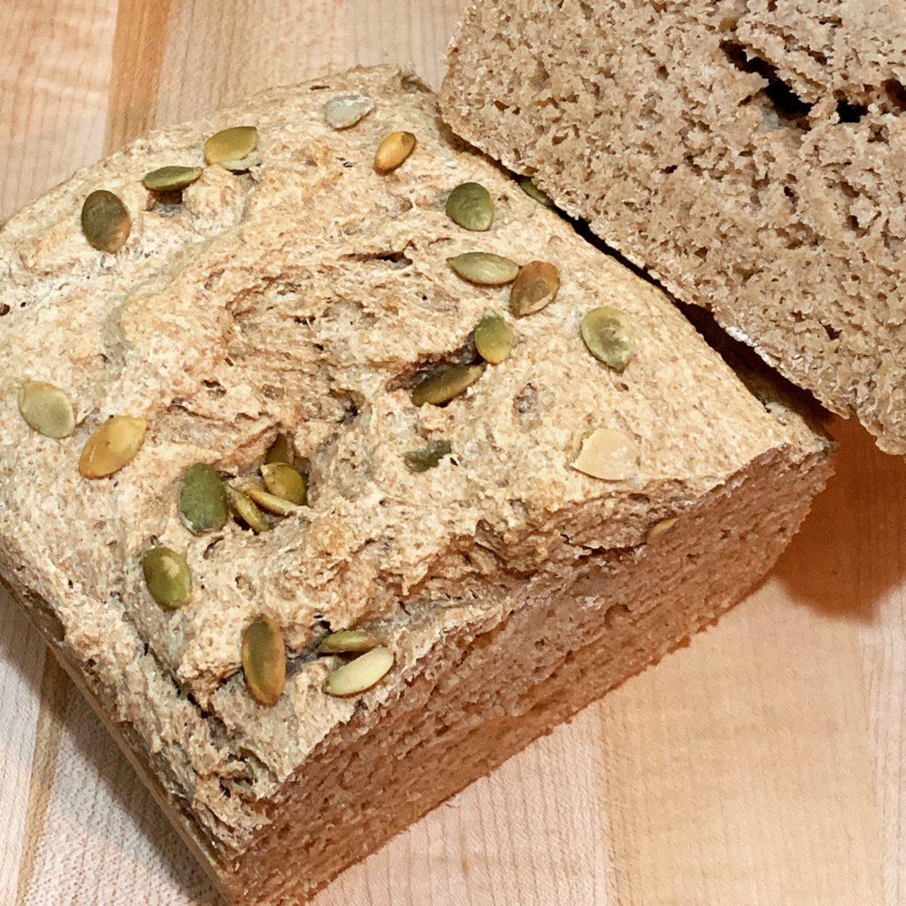 Spelt Bread with Pumpkin Seeds