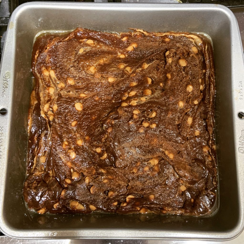 Unbaked Butterscotch Bars