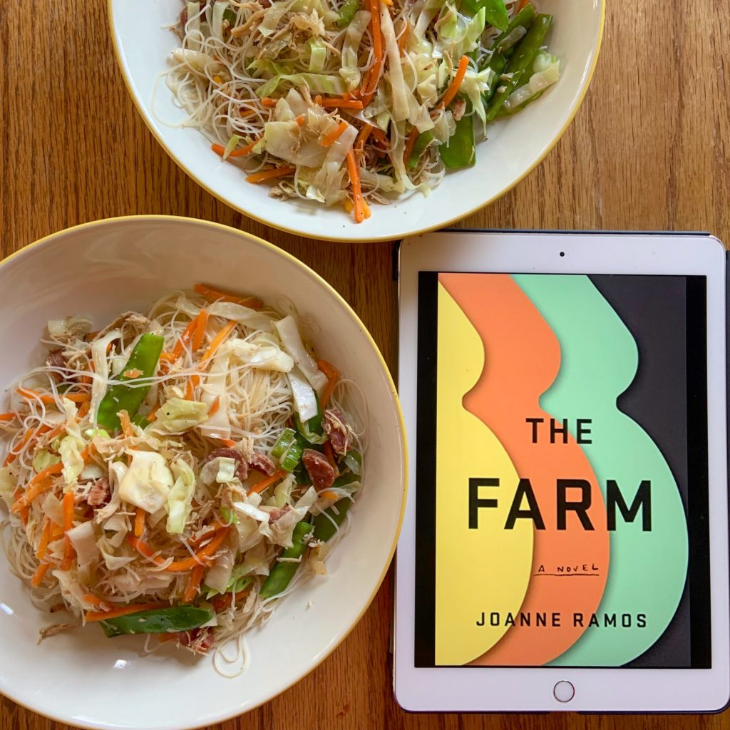 Pancit inspired by The Farm