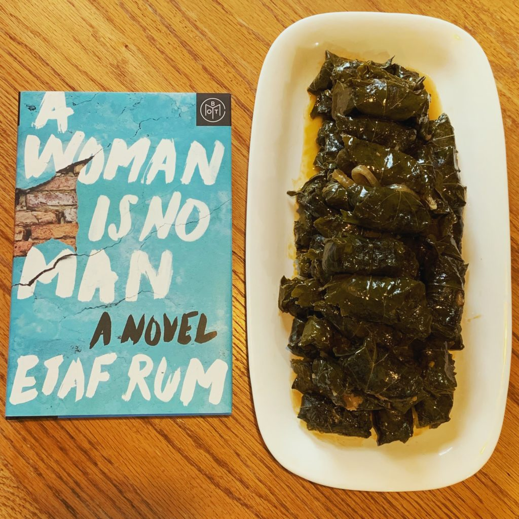 A Woman Is No Man Book Club: Stuffed Grape Leaves