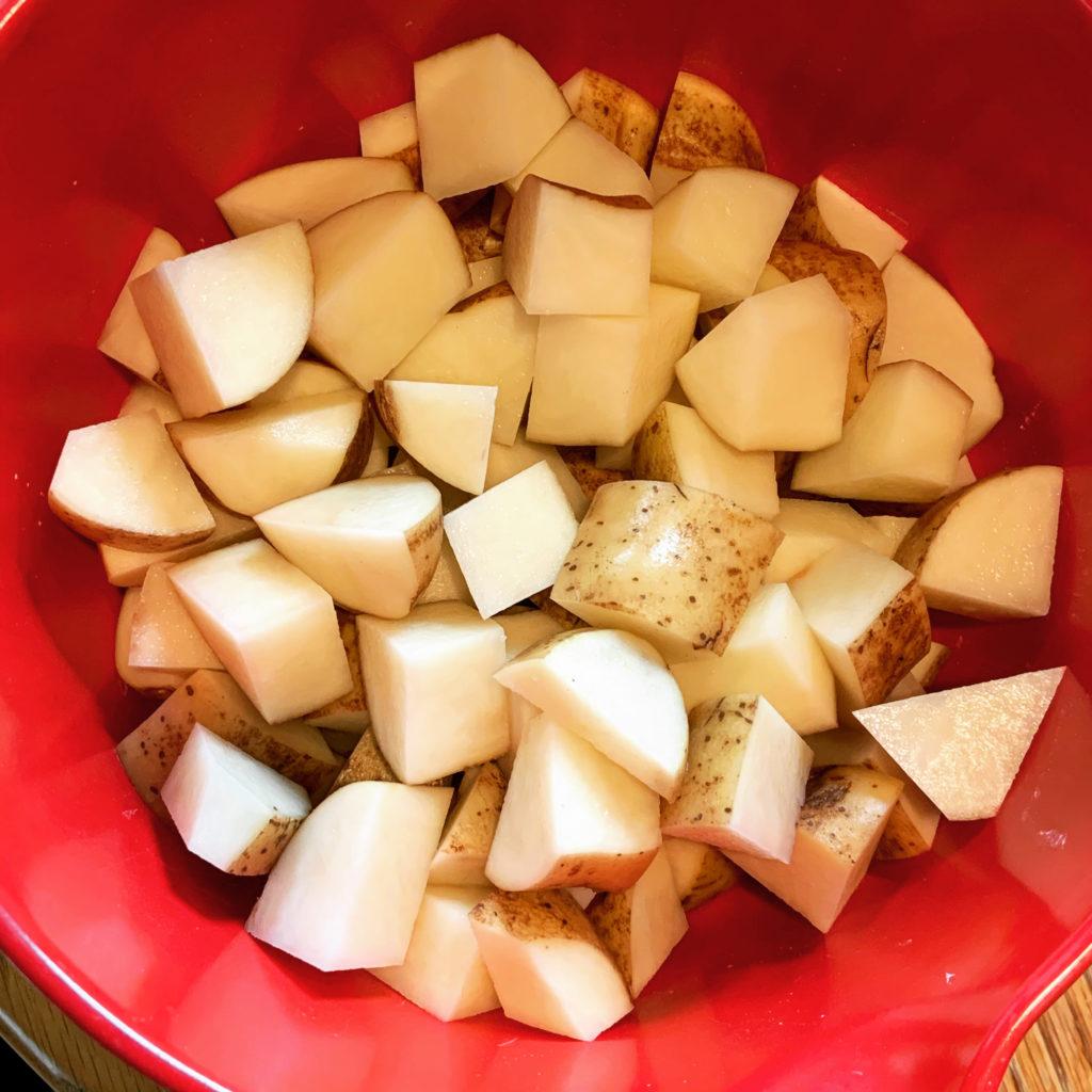Potato Chunks for Roasting