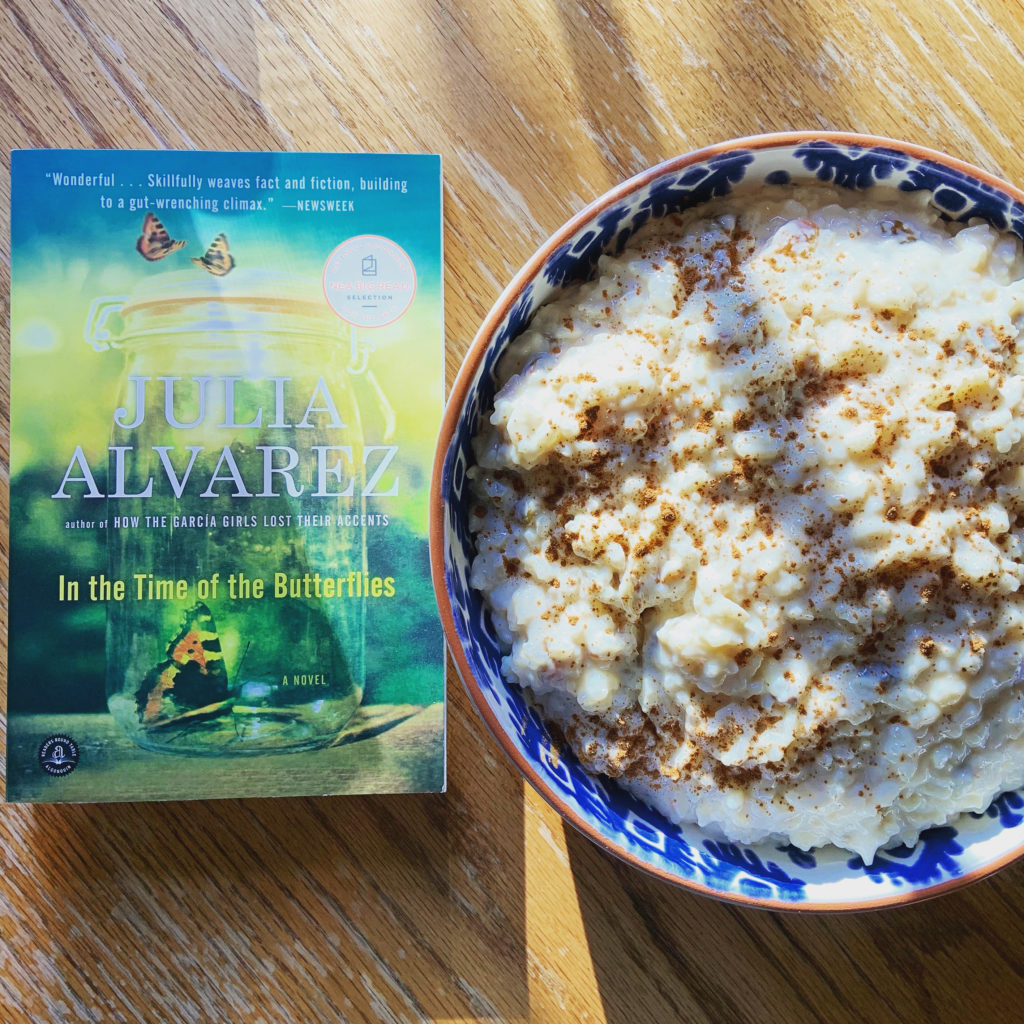 Arroz con Leche with In the Time of the Butterflies