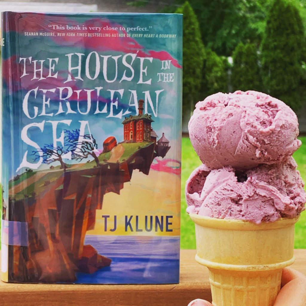 Ice Cream inspired by The House in the Cerulean Sea