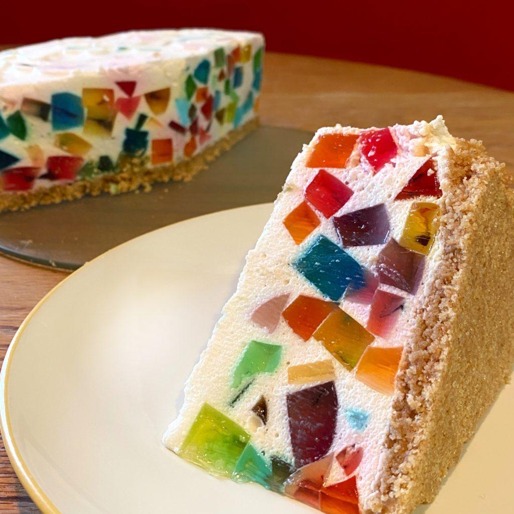 A Slice of Jewel Pudding Pie