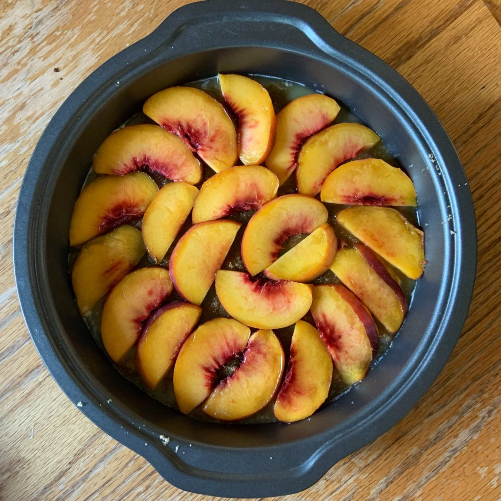 Peaches in Butter and Brown Sugar