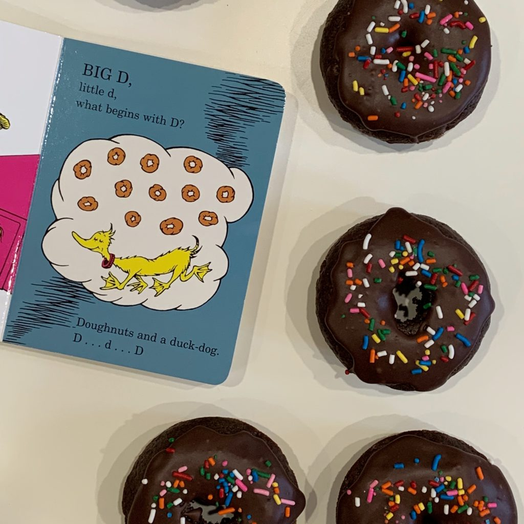 Doughnuts inspired by Dr. Seuss