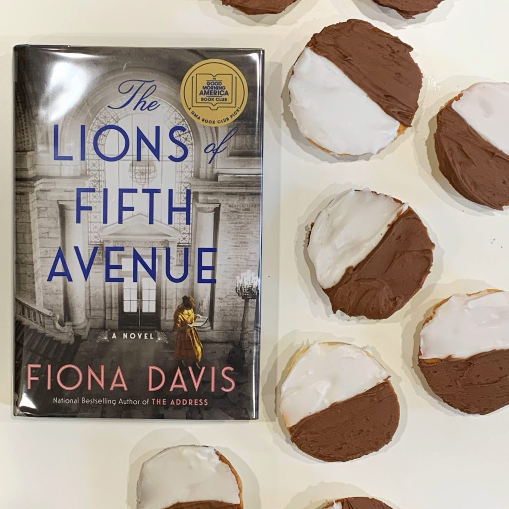 Cookies inspired by The Lions of Fifth Avenue