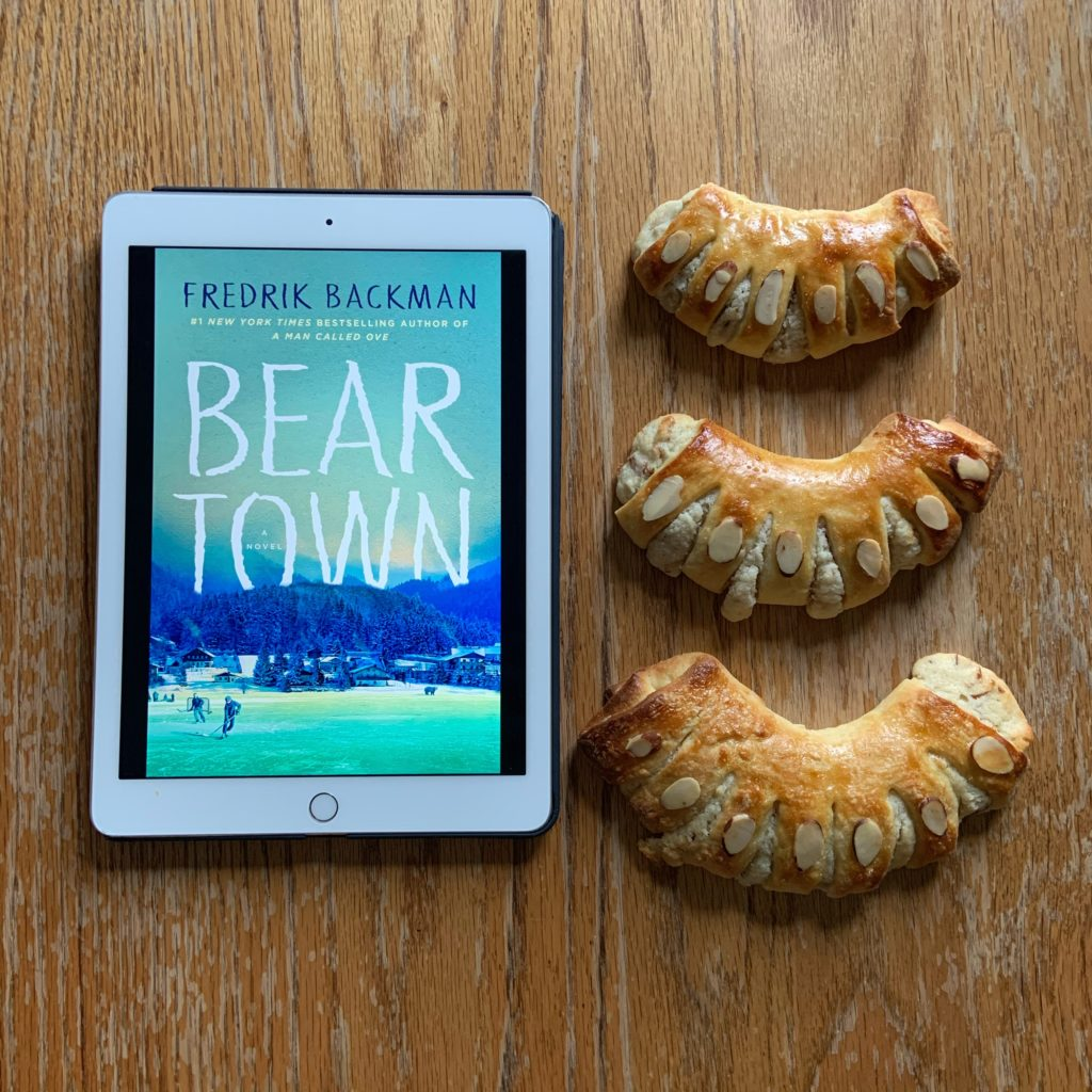 Bear Claws inspired by Beartown