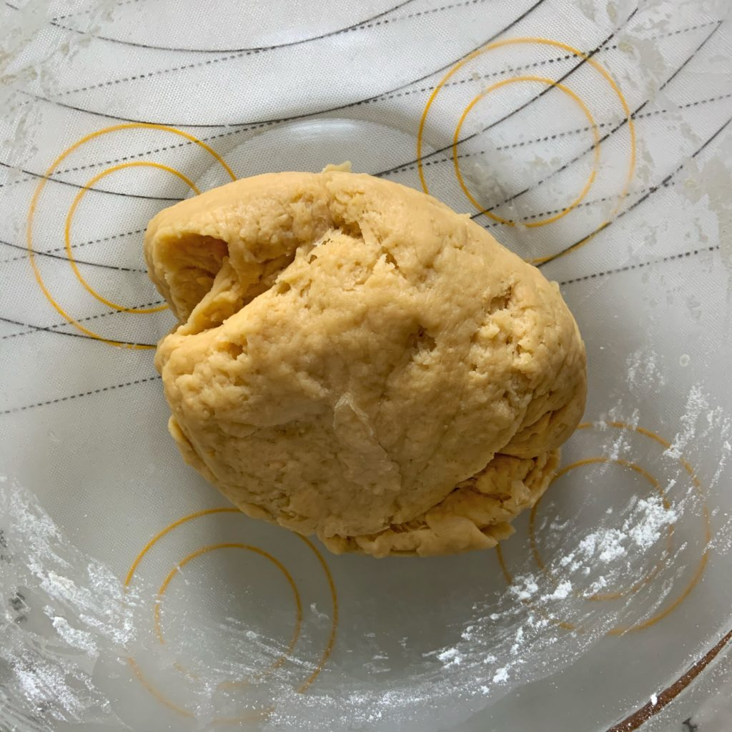 Cheesy Dog Treat Dough