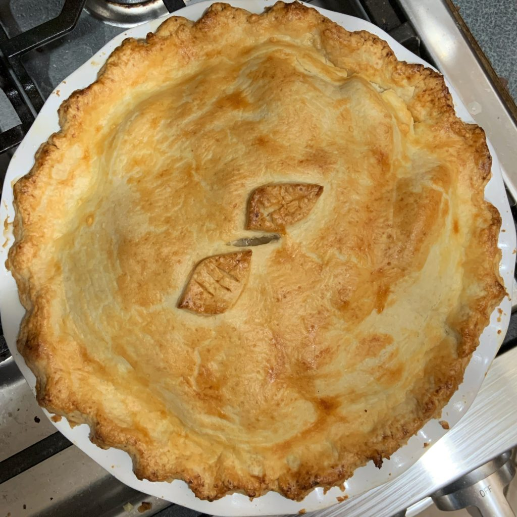 British Apple Pie