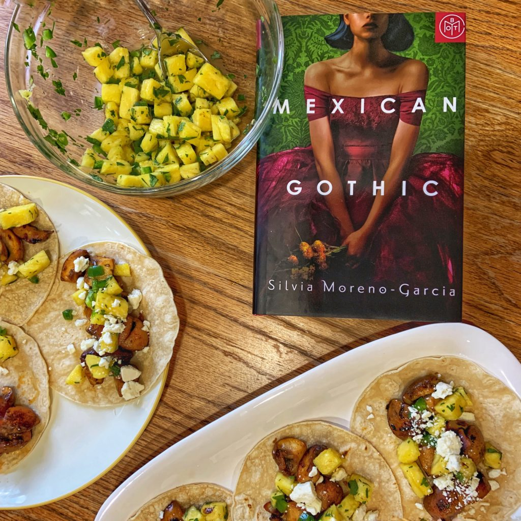 Mexican Gothic Book Club Tacos