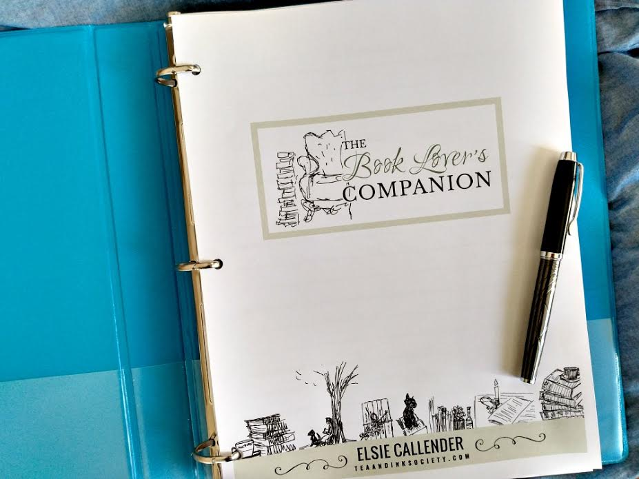 Book Lover's Companion Tracking Journal