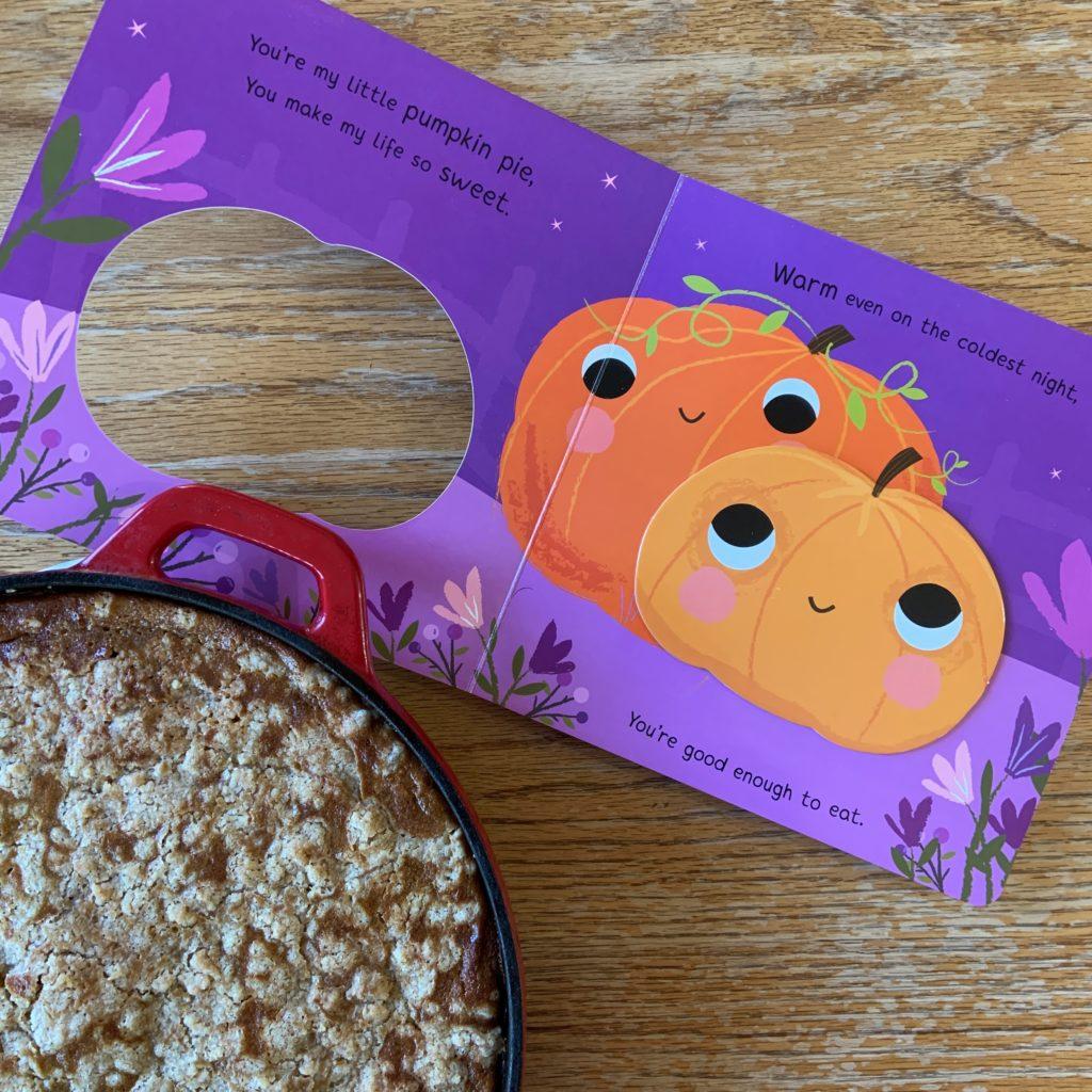 Pumpkin Crisp based on You're My Little Pumpkin Pie