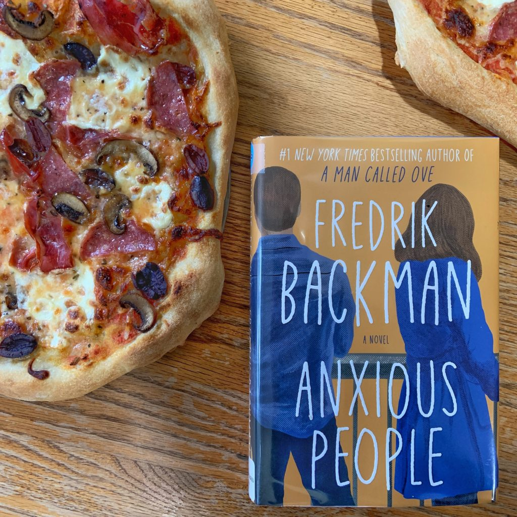 Anxious People inspired pizza capricciosa