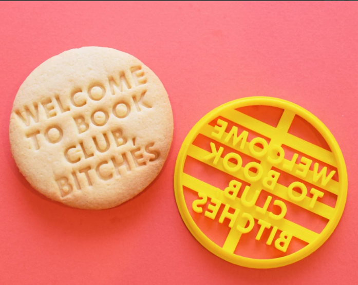 Welcome to Book Club Cookie Cutter