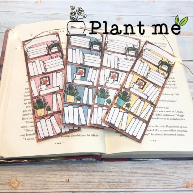 Plantable Bookmark