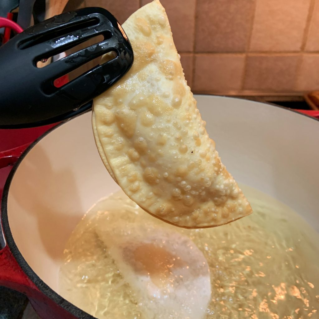 Fried empanadas