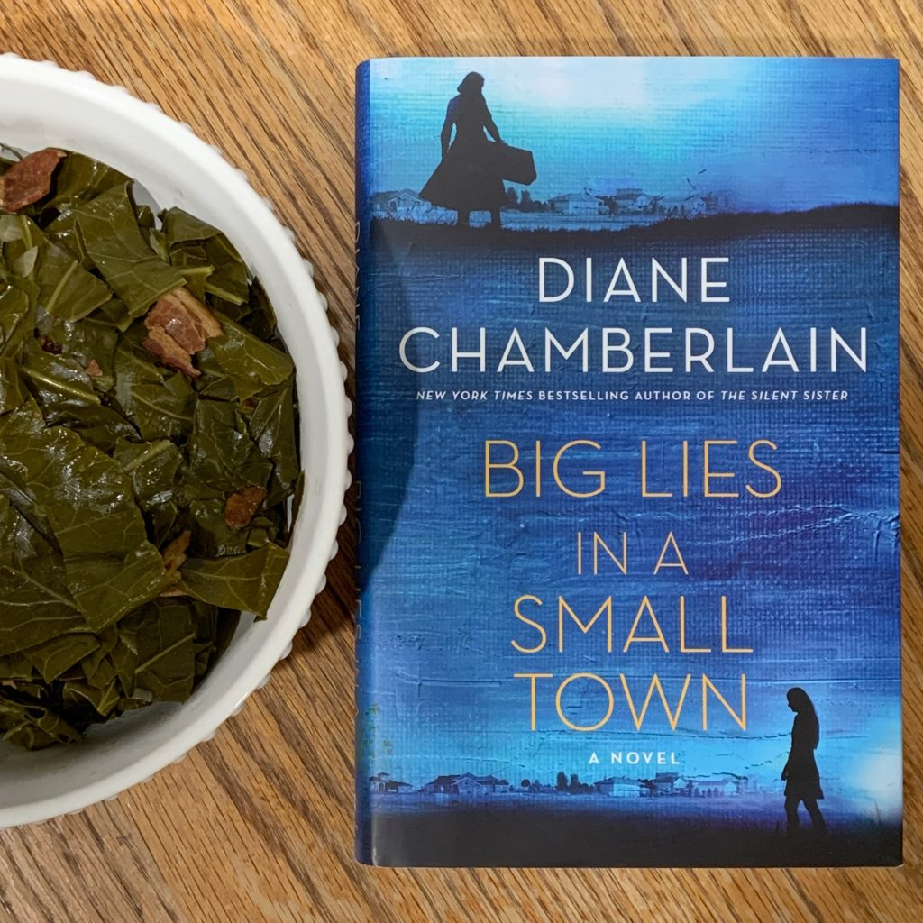 Collard Greens inspired by Big Lies in a Small Town