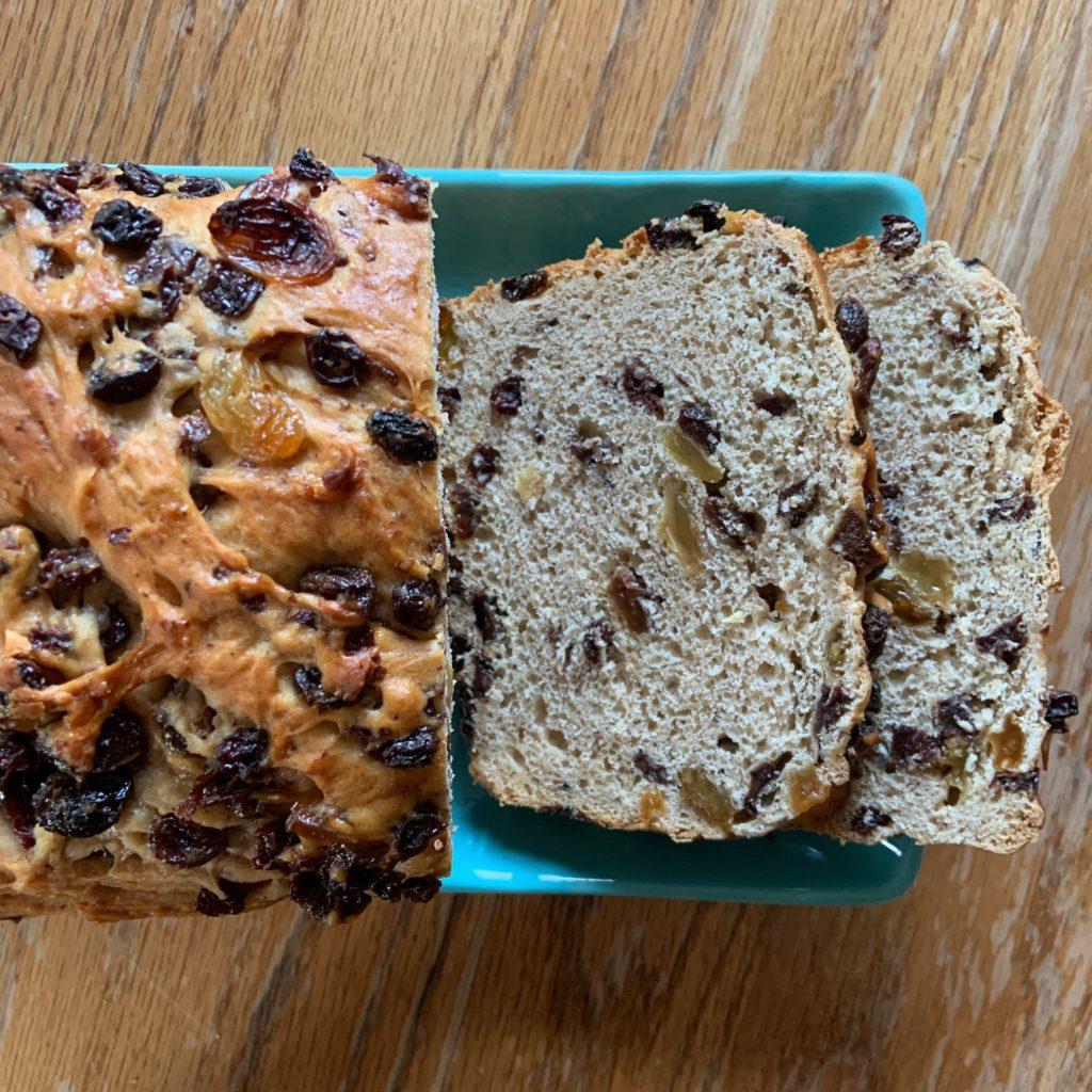 Barmbrack loaf