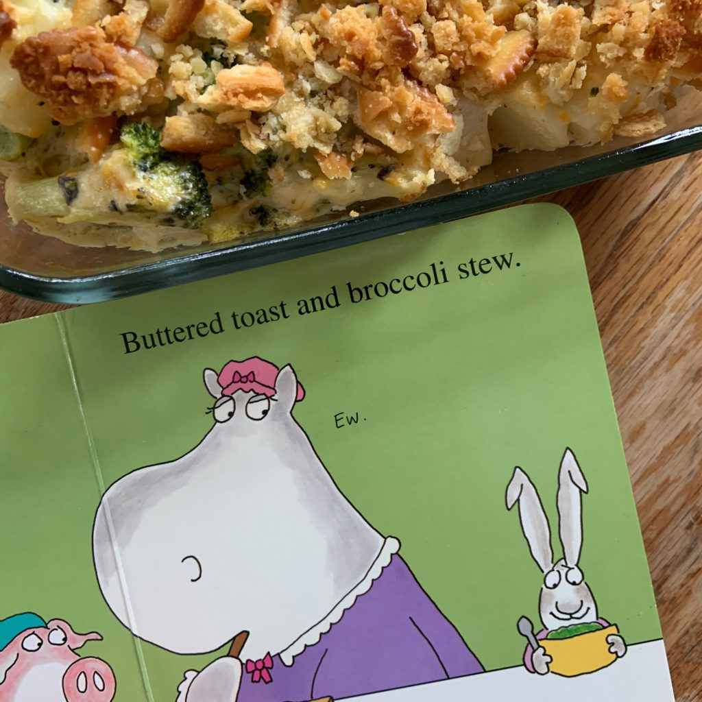 Broccoli stew from Hey! Wake Up!