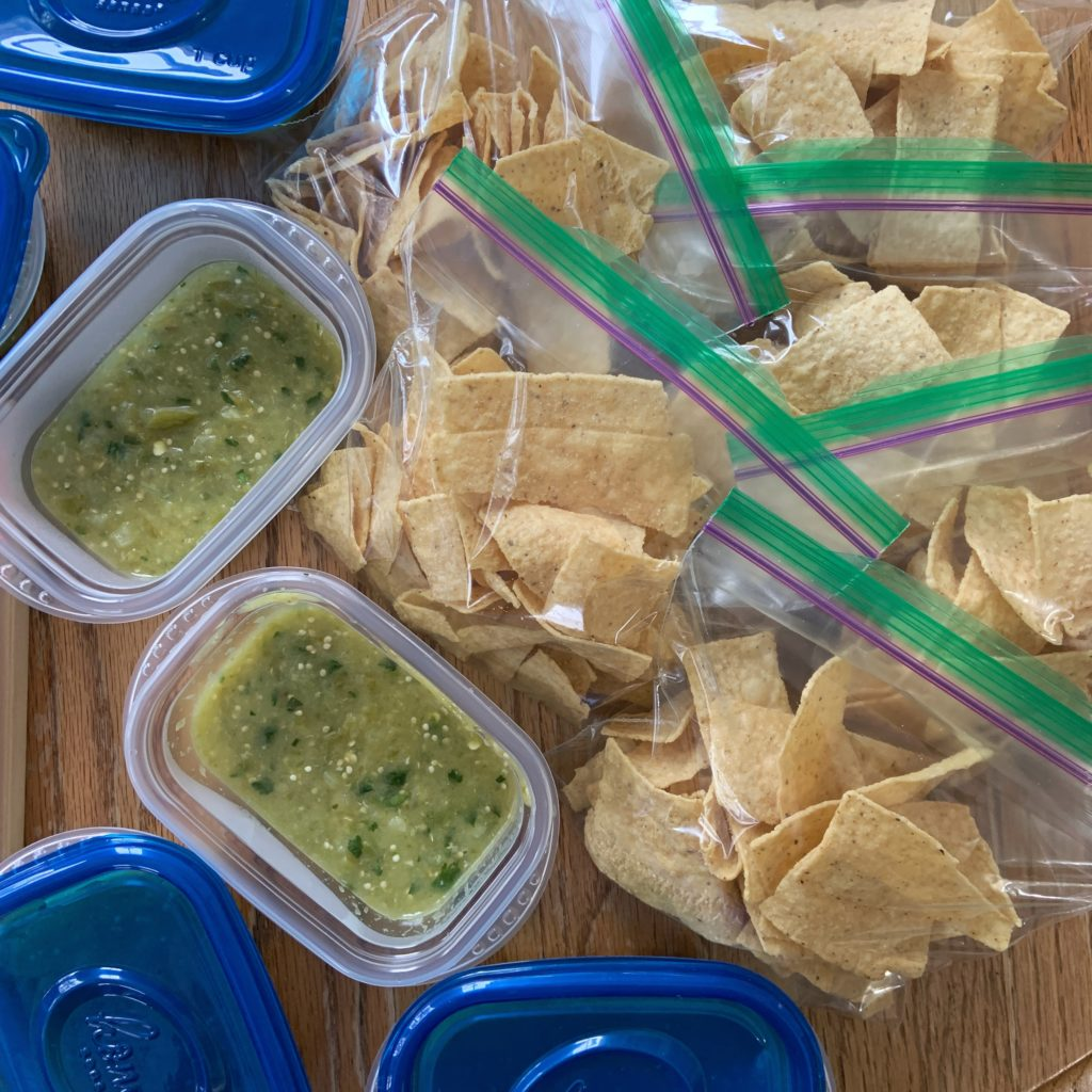 Salsa and Chip Care Packages