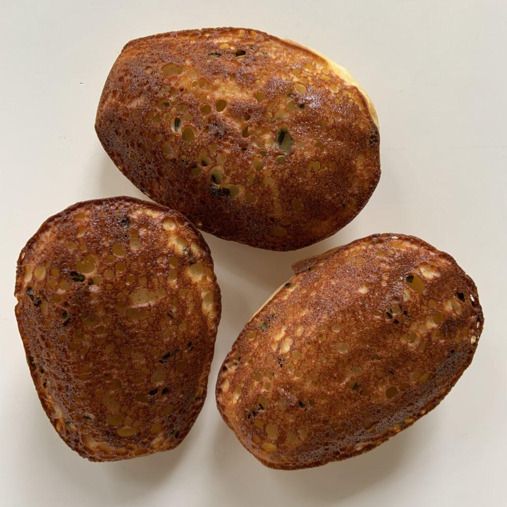Parmesan herb madeleines (back)