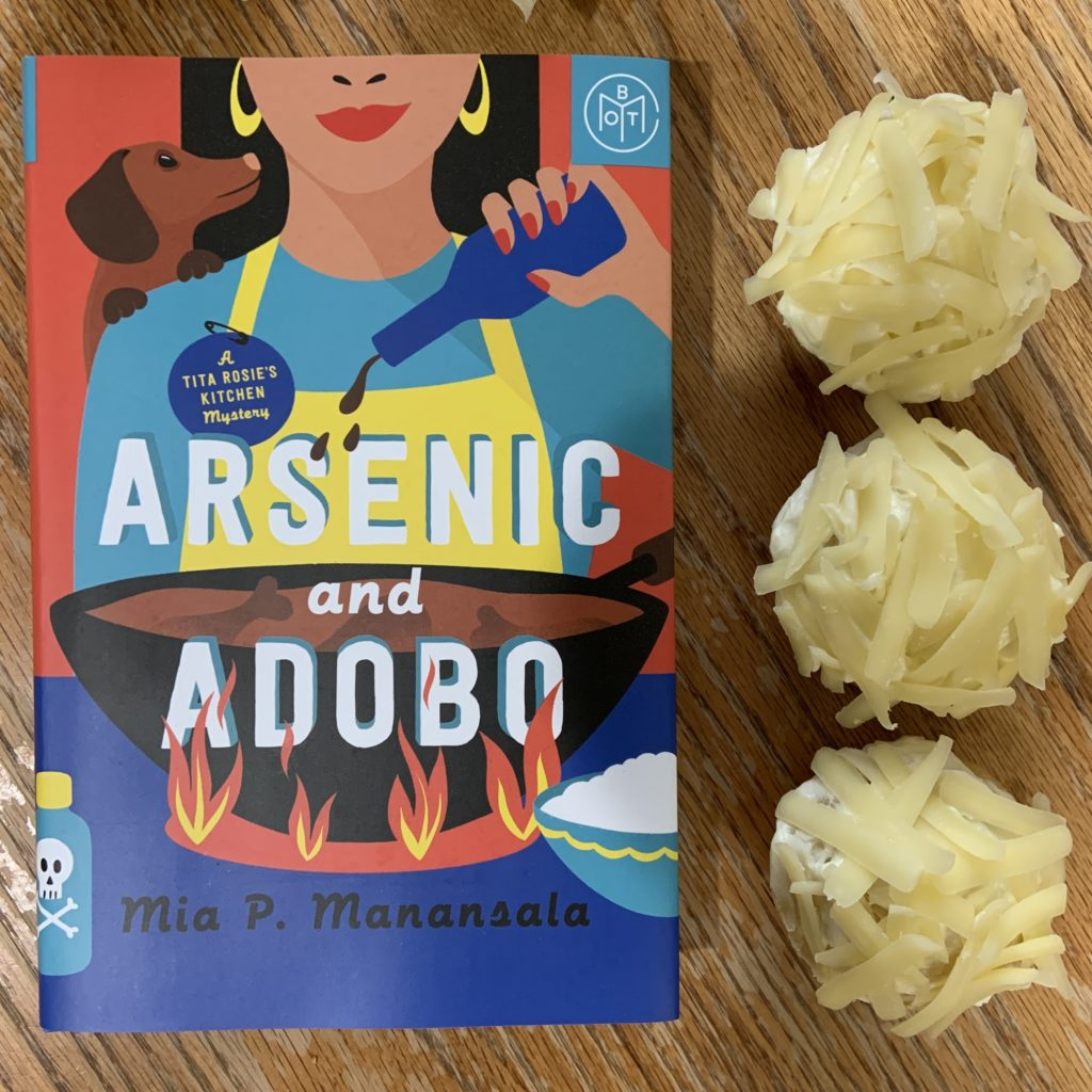 Ensaymada inspired by Arsenic and Adobo